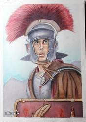 Marcus Flavius Aquila by xDizzyBx