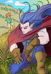 Magus and Crono