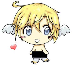 Gaia - Angel Imp Chibi