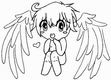 Gaia - Angel Imp Sketch