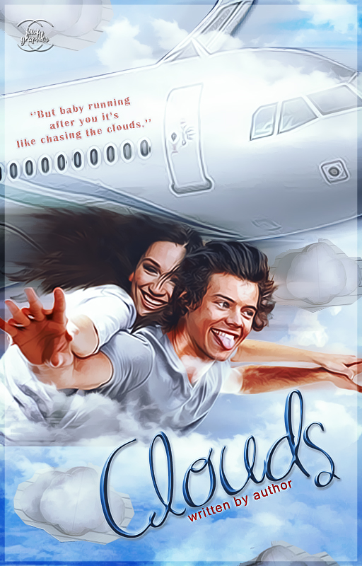 Book Cover On Wattpad : Clouds wattpad book cover by xjowey on deviantart