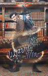 Wizard oft-time - wattpad cover
