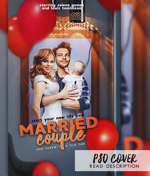 PSD cover // married couple
