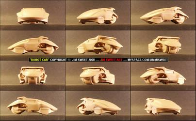 'ROBOT CAR' VIEW 1 by JIM-SWEET