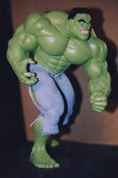 The Incredible HULK sculpture - statue - Photo 1 by JIM-SWEET