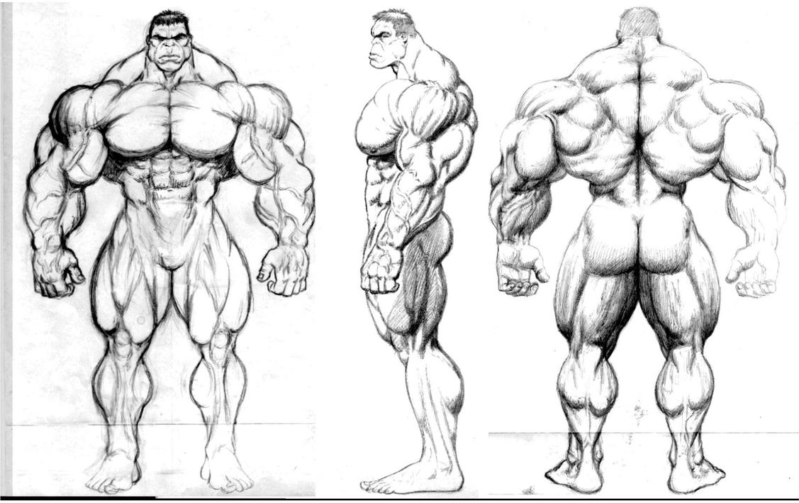 Hulk Face Line Drawing : Hulk design by jim sweet on deviantart