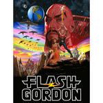 Flash Gordon movie poster : Star Wars format