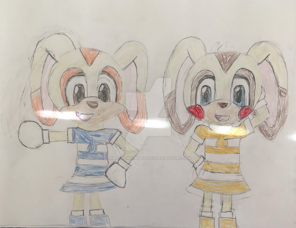 Kirsten and Chewy (My Sonic OC) by PikaChewyChipsAhoy
