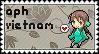APH Vietnam stamp by ymynysol