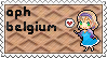 APH Belgium stamp by ymynysol