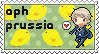 APH Prussia stamp by ymynysol