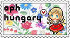 APH Hungary stamp by ymynysol