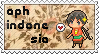 APH OC!Indonesia stamp by ymynysol