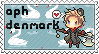 APH Denmark stamp by ymynysol