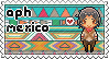 APH OC!Mexico stamp by ymynysol