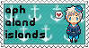 APH OC!Aland Islands stamp by ymynysol