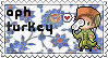 APH Turkey stamp by ymynysol