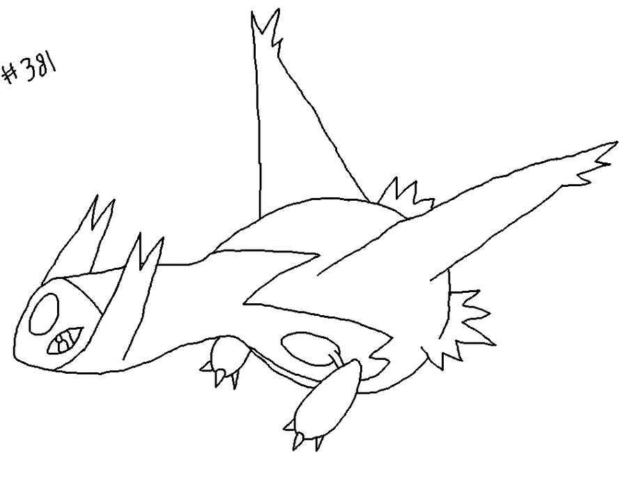 latias and latios coloring pages - photo#21