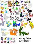 Leftover Pokemon Adoptables