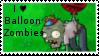 PvZ Stamp: I love Balloon Zombies