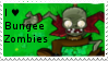 PvZ Stamp: I love Bungee Zombies