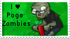 PvZ Stamp: I love Pogo Zombies by Shadow-Cipher