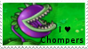 PvZ Stamp: I love Chompers by Shadow-Cipher