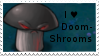 PvZ Stamp: I love Doom-Shrooms by Shadow-Cipher