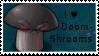 PvZ Stamp: I love Doom-Shrooms by Shadow-Cipher