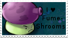 PvZ Stamp: I love Fume-Shrooms by Shadow-Cipher