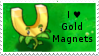 PvZ Stamp: I love Gold Magnets by Shadow-Cipher