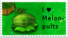 PvZ Stamp: I love Melon-Pults by Shadow-Cipher