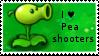 PvZ Stamp: I love Peashooters