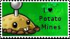 PvZ Stamp: I love Potato Mines by Shadow-Cipher