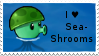 PvZ Stamp: I love Sea-Shrooms by Shadow-Cipher
