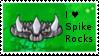 PvZ Stamp: I love Spikerocks by Shadow-Cipher