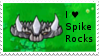 PvZ Stamp: I love Spikerocks by Shadow-Cipher