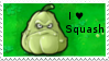 PvZ Stamp: I love Squashes by Shadow-Cipher