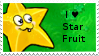 PvZ Stamp: I love Starfruit by Shadow-Cipher