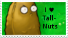 PvZ Stamp: I love Tall-Nuts by Shadow-Cipher