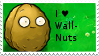 PvZ Stamp: I love Wall-Nuts by Shadow-Cipher