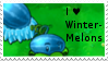 PvZ Stamp: I love Winter-Melons by Shadow-Cipher