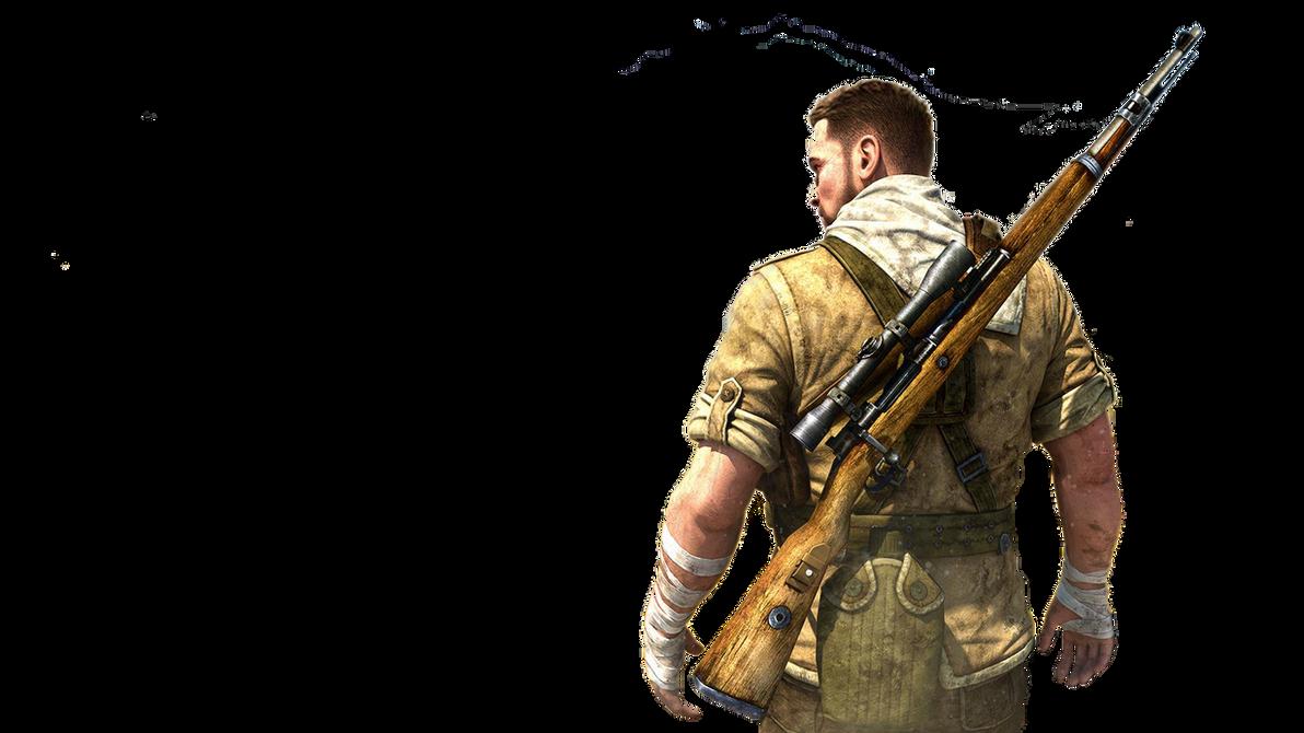 Sniper elite 3 hd render by goldenarrow253 on deviantart sniper elite 3 hd render by goldenarrow253 voltagebd Images
