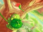 Shiny Bulbasaur [+SPEEDPAINT VIDEO]