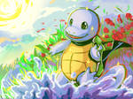 Shiny Squirtle [+SPEEDPAINT VIDEO]