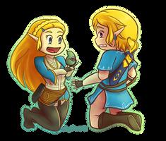 Zelda: It's the pearfect specimen!! by ArtsyShionai
