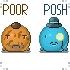 Poor v Posh by DrOCTOGONEAPUS