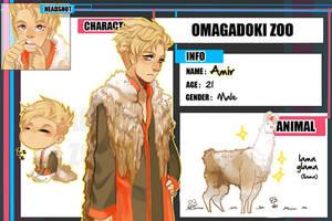 Omadobu : Amir by Kuro-Puppy