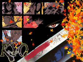 Samurai Deeper Kyo Wallpaper by DemonLordPiro
