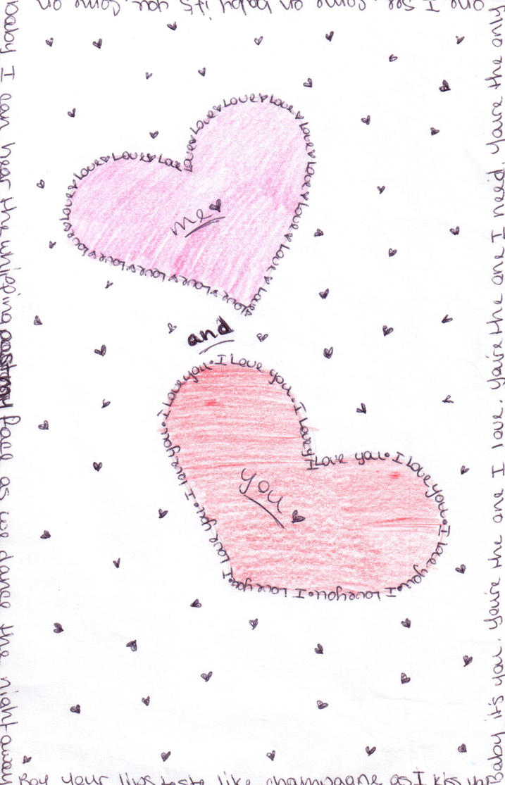 Love Word Art Drawing By Samygirl